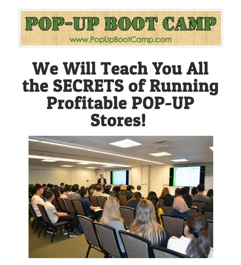 popup boot camp